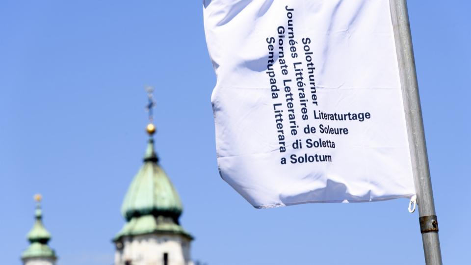 Literaturredaktor Felix Münger zur Eröffnung der Solothurner Literaturtage