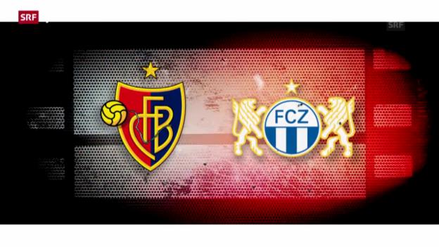 Video «Fussball: Super League, Vorschau FC Basel - FC Zürich» abspielen