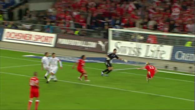 Video «Bisherige Duelle Schweiz - Griechenland» abspielen