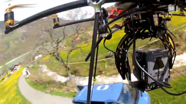 Video «Mehr Action mit Drohnenkamera» abspielen