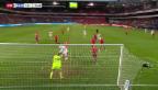 Video «WM-Qualifikations-Spiel Norwegen : Schweiz» abspielen