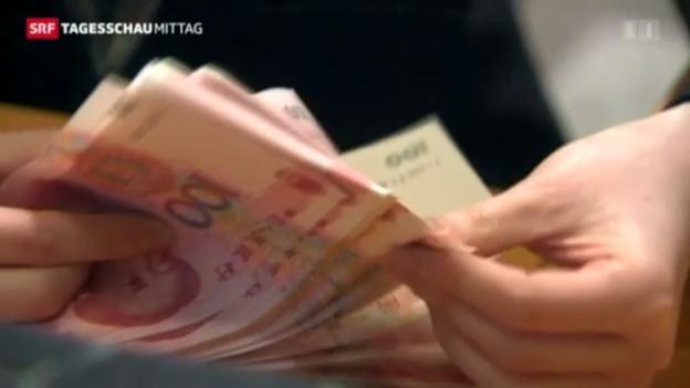 Video «Chinas Wirtschafswachstum ist rückläufig» abspielen