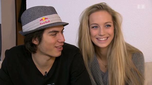 Video «Elias Ambühl geniesst Liebesglück» abspielen