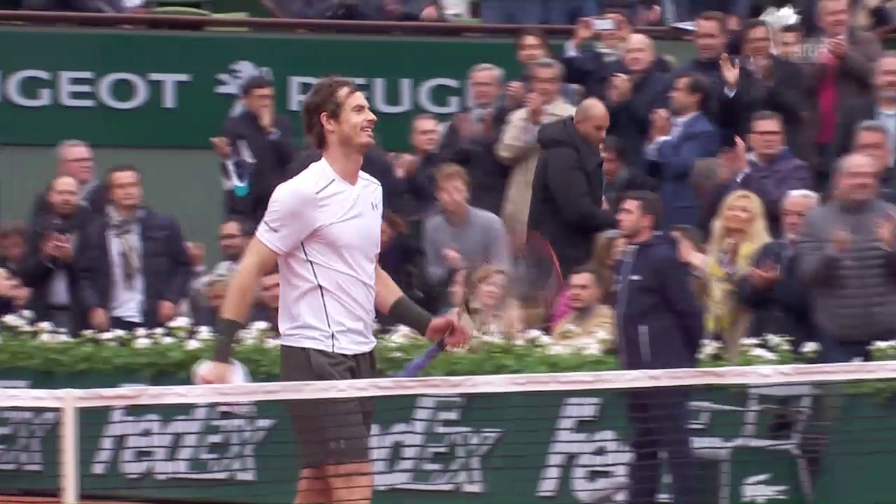 Wawrinka - Murray: Die Live-Highlights