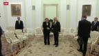Video «Merkels Besuch in Moskau» abspielen