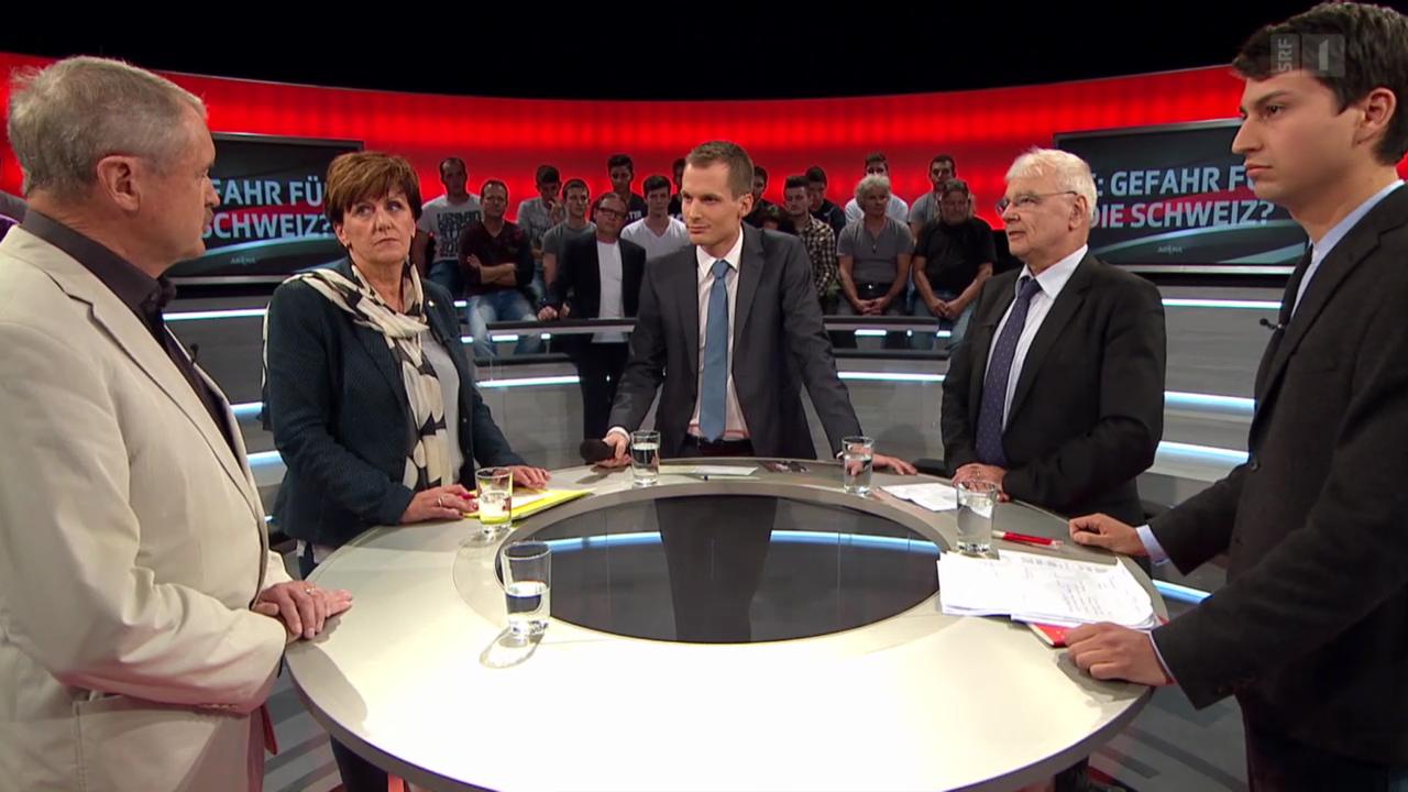 «Arena»: IS in der Schweiz: eine Gefahr?