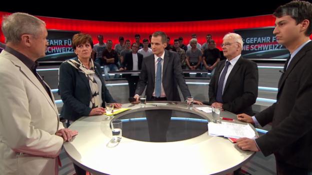 Video ««Arena»: IS in der Schweiz: eine Gefahr?» abspielen