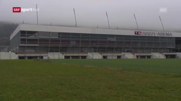 Video «Der FC Biel verliert die Lizenz» abspielen