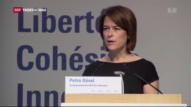 Video «FDP will für den Erhalt der bilateralen Verträge kämpfen» abspielen
