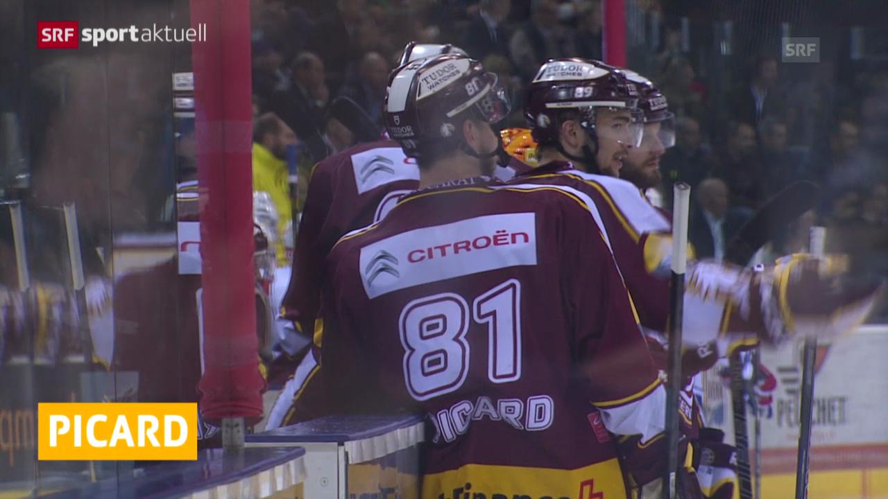 Eishockey: Alexandre Picard provisorisch gesperrt («sportaktuell»)