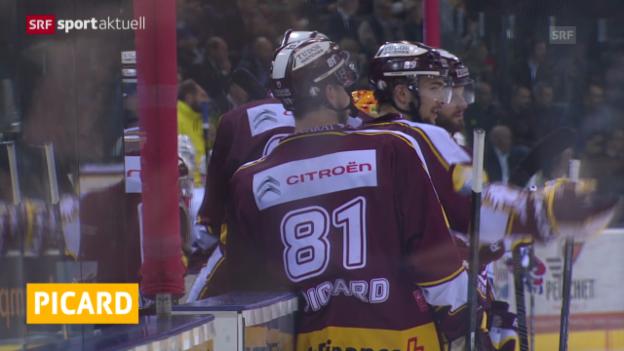 Video «Eishockey: Alexandre Picard provisorisch gesperrt («sportaktuell»)» abspielen