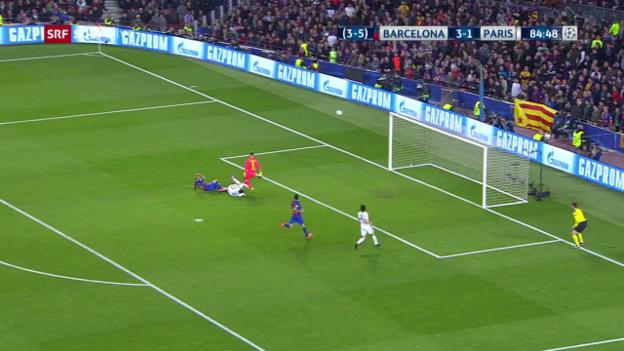 Video «Mascherano stoppt Di Maria als letzter Mann» abspielen