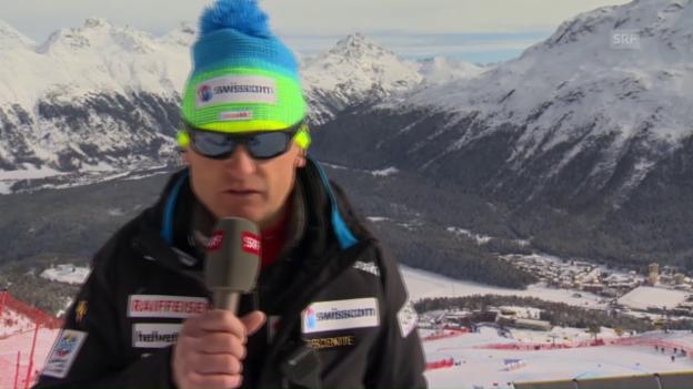 Video «Hans Flatscher: «Die Medaille ist enorm wichtig»» abspielen
