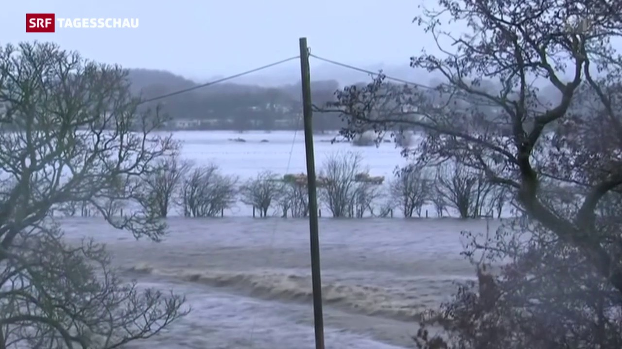 Überschwemmungen in Grossbritannien