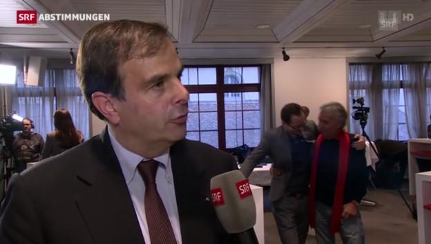 Video «Gerhard Pfister (CVP/ZG) zum Nein zu Ecopop» abspielen