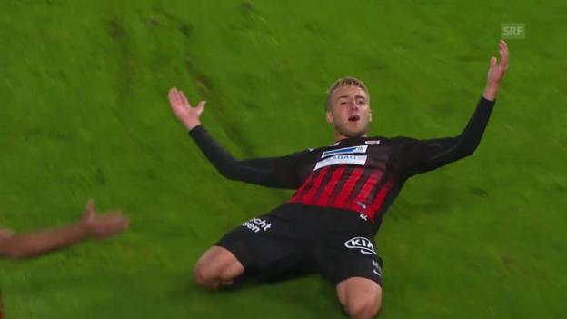 Video «Aarauf düpiert den FCZ» abspielen