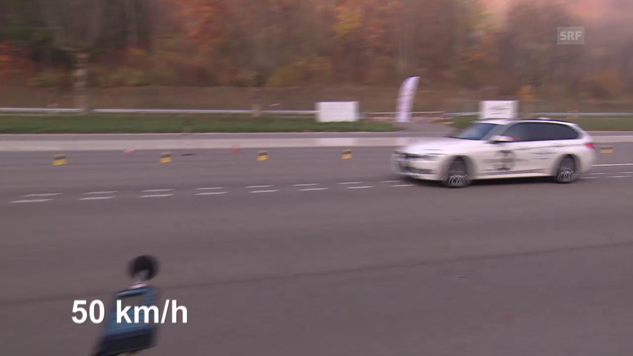 Normmessung BMW (50 km/h)