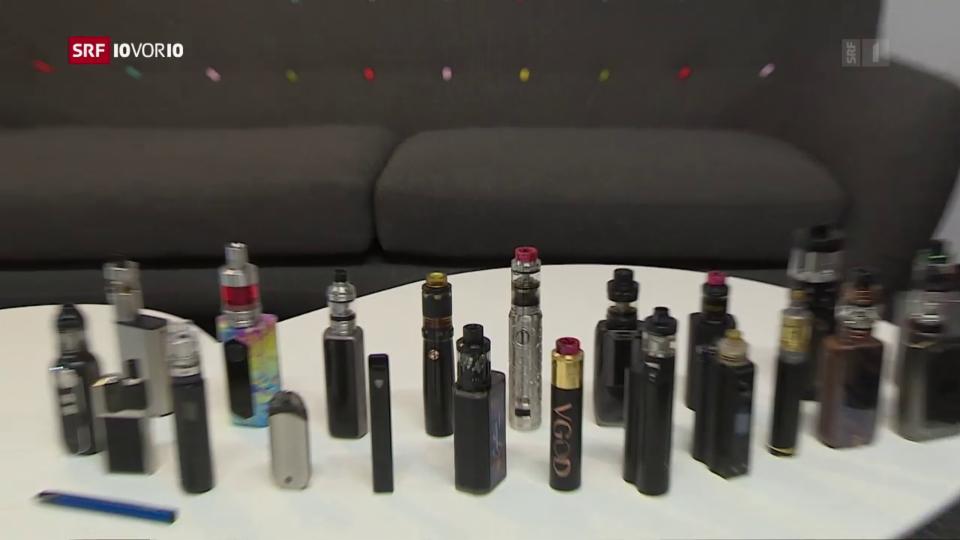 E-Zigaretten gelten als coole Alternativen