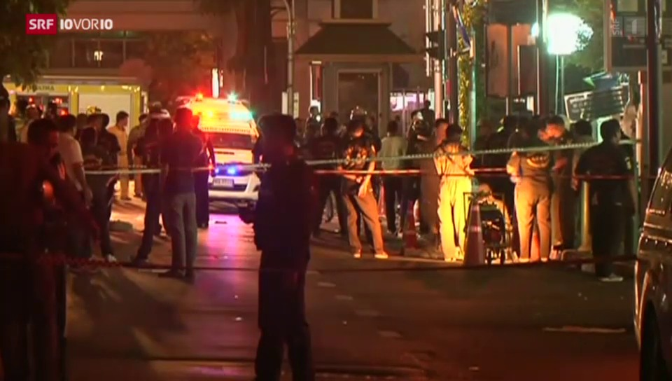 Anschlag in Bangkok