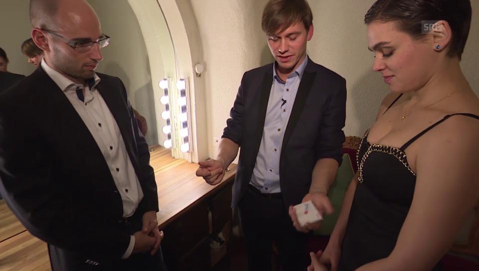 Folge 1: Nina Burri und Ehegatte Stefan Schwitter