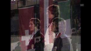 Video «Russi und Klammer: Einstige Rivalen am Mittwoch in «Champiuns»» abspielen