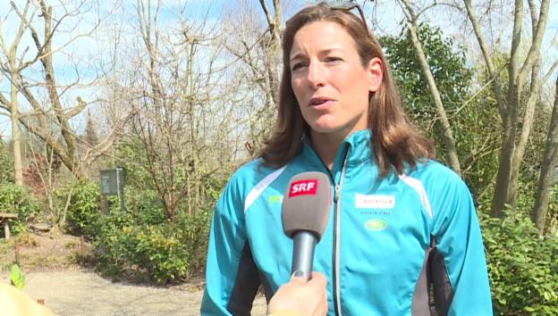 Video «Nicola Spirig über ihre Genesung» abspielen