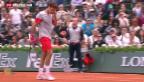 Video «Roger Federer ist ausgeschieden» abspielen