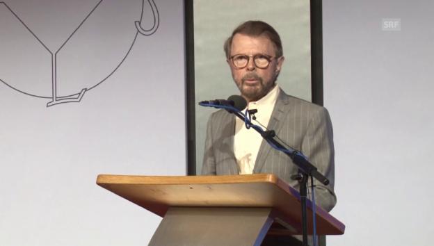Video «Björn Ulvaeus bei seiner Laudatio für den ESC» abspielen