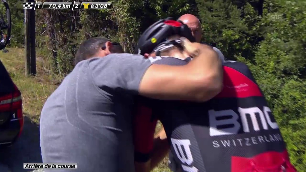 Rad: Tour de France; 17. Etappe, Van Garderen gibt auf