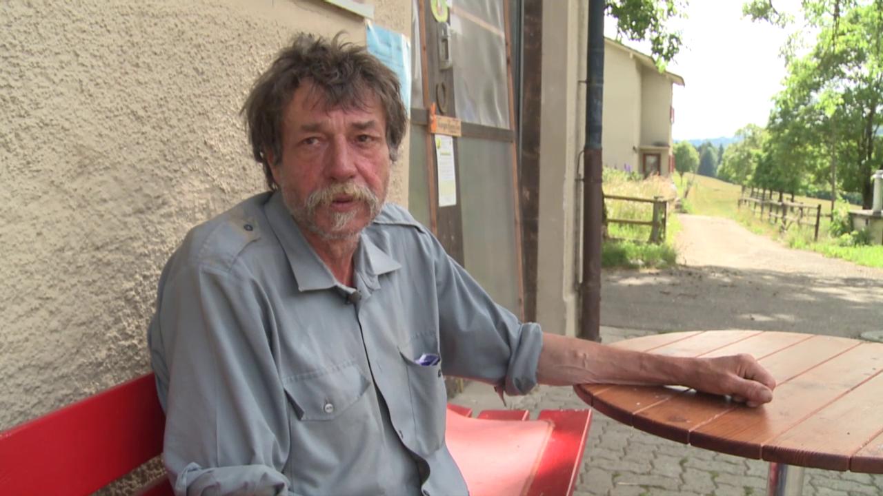 Franziskus Brigger: «Ohne Sonvilier wäre ich tot.»