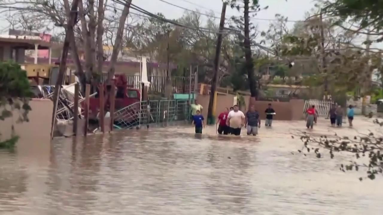 Grosse Zerstörung in Puerto Rico (unkomm.)
