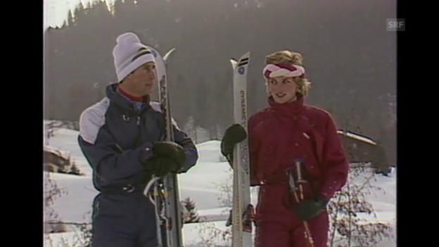 Video ««Charles und Diana beim Skifahren», 6.2.1988» abspielen
