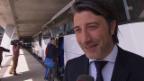 Video «Fussball: Auslosung Europa-League-Viertelfinals, Reaktionen FC Basel» abspielen