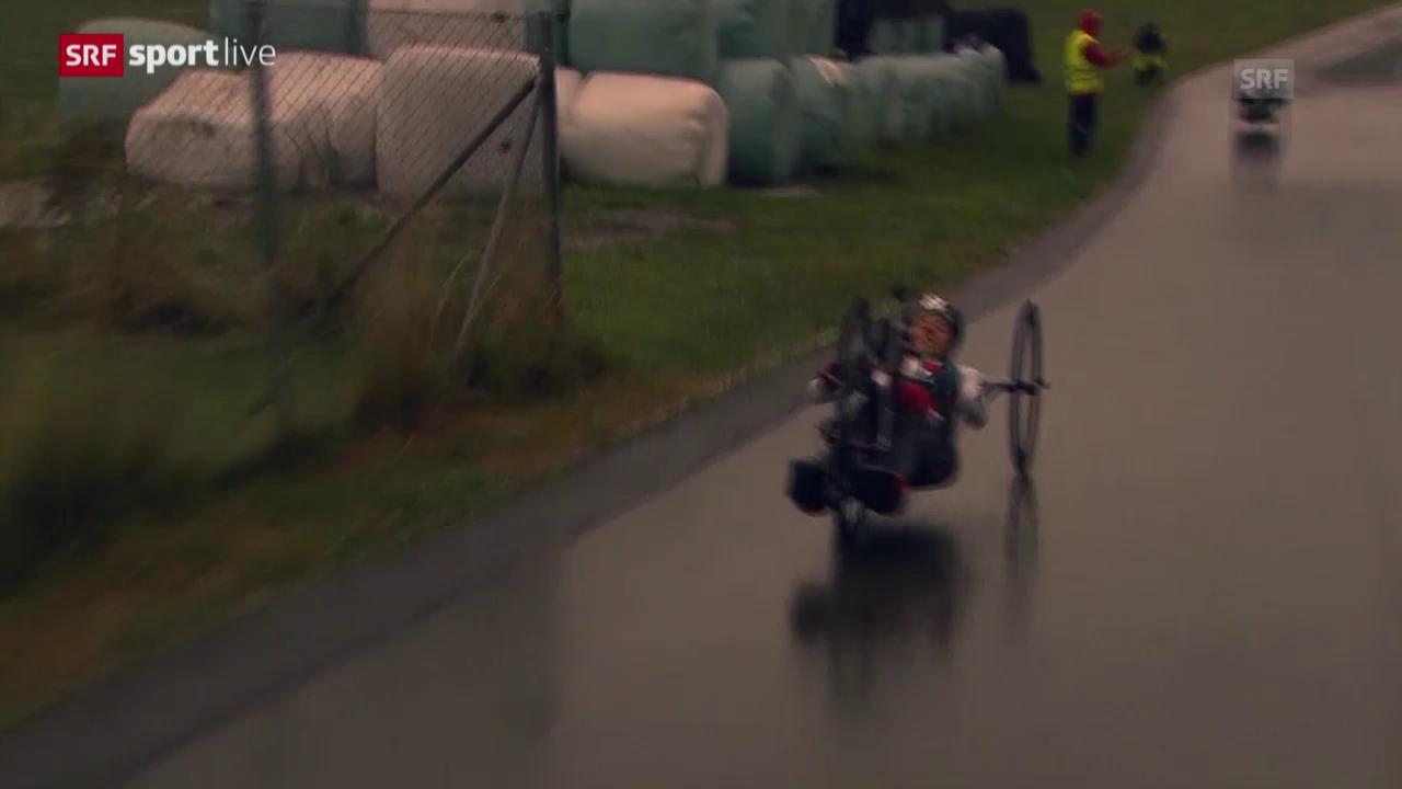 Paracycling: WM Nottwil, Bronze für die Staffel