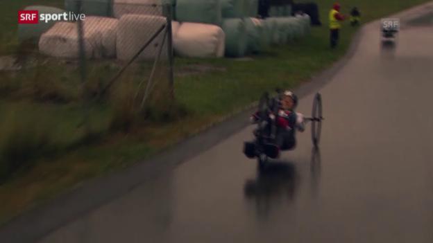 Video «Paracycling: WM Nottwil, Bronze für die Staffel» abspielen