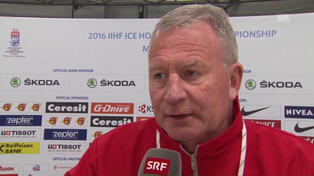 Video «Dänemark-Coach Karlsson: «Ehlers hat eine grosse Zukunft»» abspielen