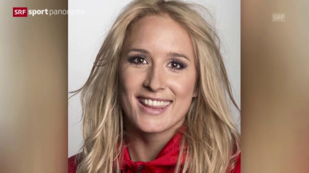 Video «Skicross: Sana Lüdi fällt verletzt aus» abspielen