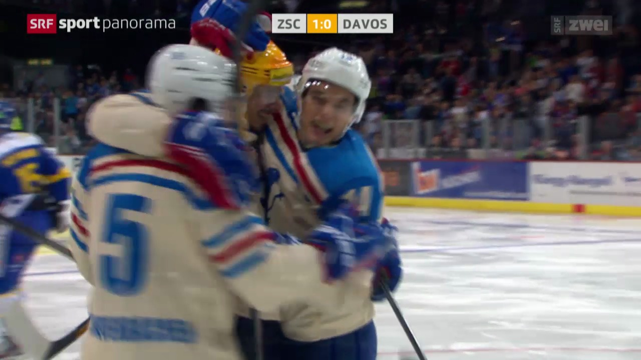 Eishockey: NLA, ZSC Lions - Davos