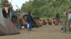 Video «FOKUS: Flüchtlinge kommen weniger in die Schweiz» abspielen
