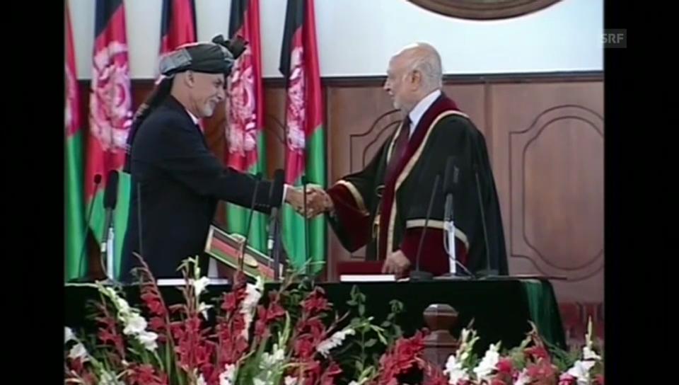 Amtsantritt von Ashraf Ghani