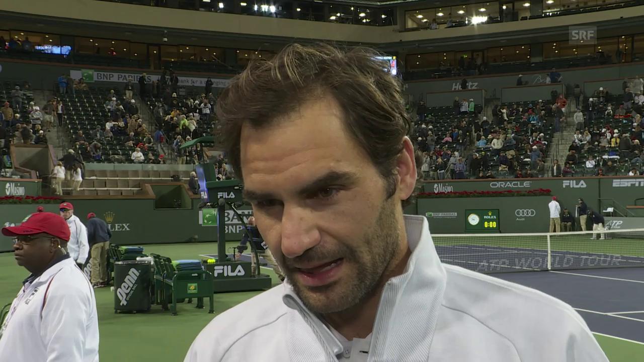 Federer bleibt ungeschlagen und stellt Start-Rekord auf