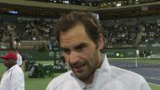 Link öffnet eine Lightbox. Video Federer: «Diese Partie war vielleicht gut für den Halbfinal» abspielen
