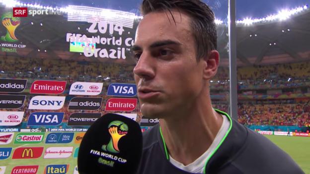 Video «FIFA WM 2014: Interview mit Diego Benaglio» abspielen