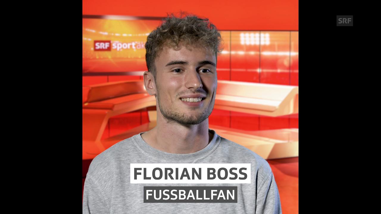 Florian Boss, für «Hallo SRF!» bei sportaktuell