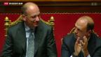 Video «Enrico Letta gewinnt Vertrauensabstimmung» abspielen