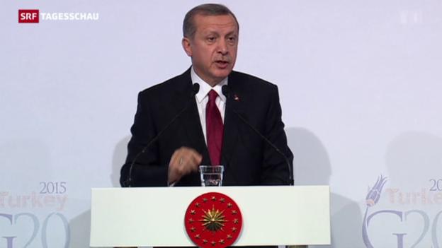 Video «G20-Gipfel im Schatten des Terrors» abspielen