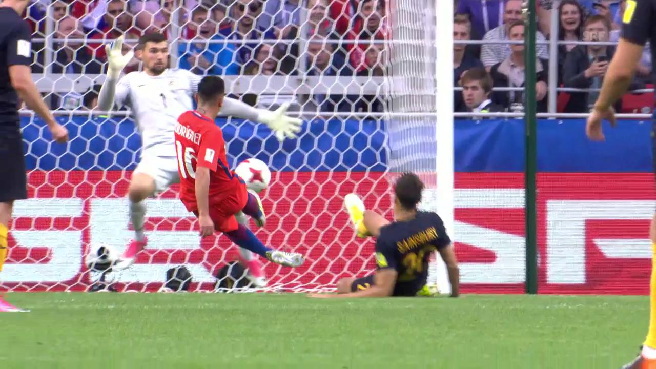 Chile dank 1:1 gegen Australien im Halbfinal