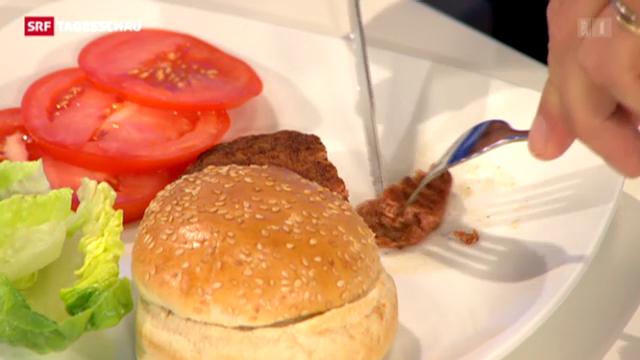 Aus dem Hamburger wird ein Lab-Burger
