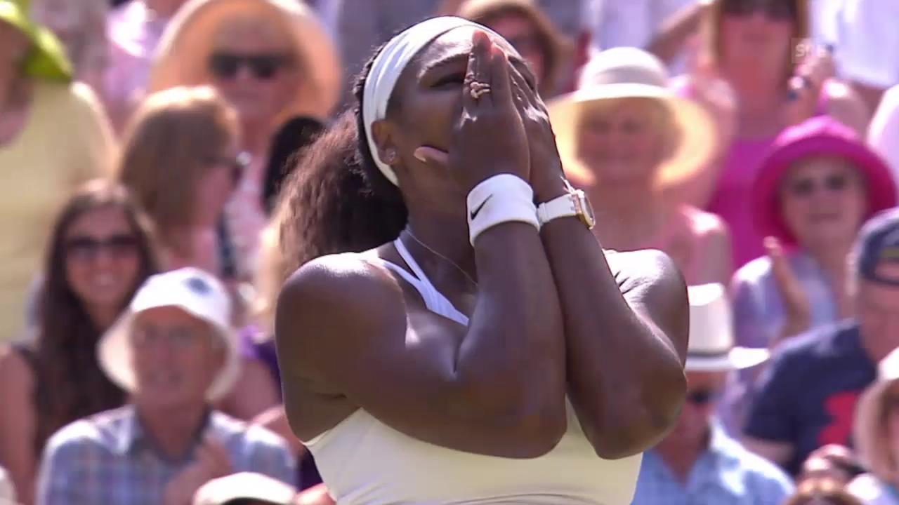 Tennis: Wimbledon, Finalhighlights Williams - Muguruza