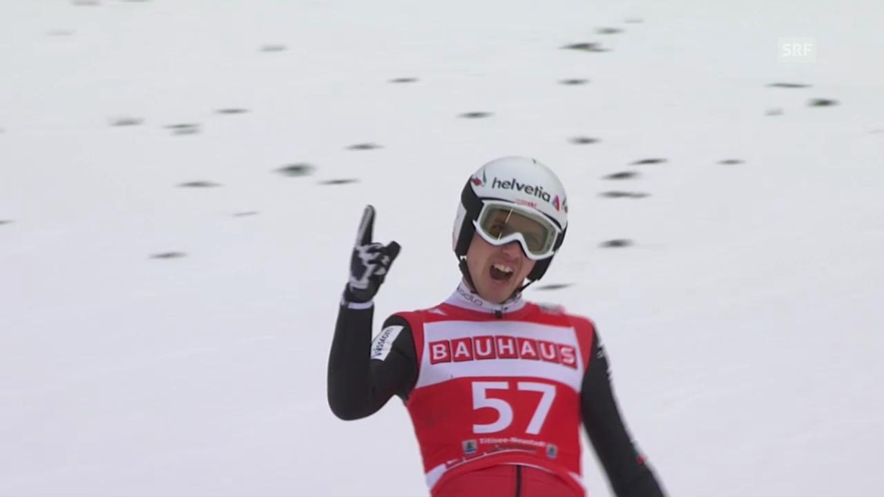 Simon Ammann bereit für Engelberg